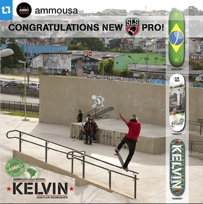 Kelvin Hoefler_Welcome to Ammo Skateboards